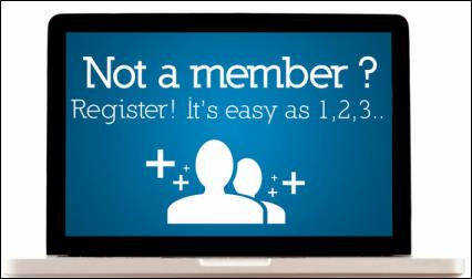 Sistem Pendaftaran Anggota Yang Sangat Singkat